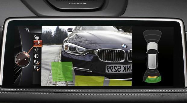 Vehicle reverse image